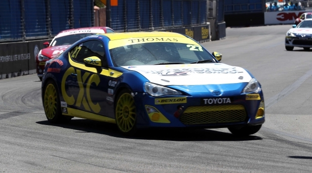 Dylan Thomas Secures Toyota 86 Racing Series Podium