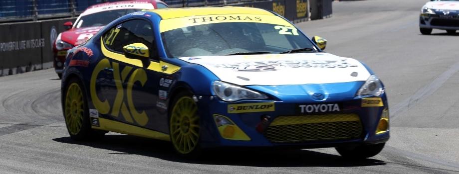 Dylan Thomas Secures Toyota 86 Racing Series Podium