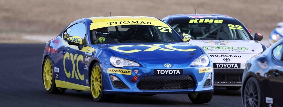 Thomas Retains Strong T86RS Position