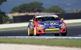 Qualifying the Key for Thomas at Townsville