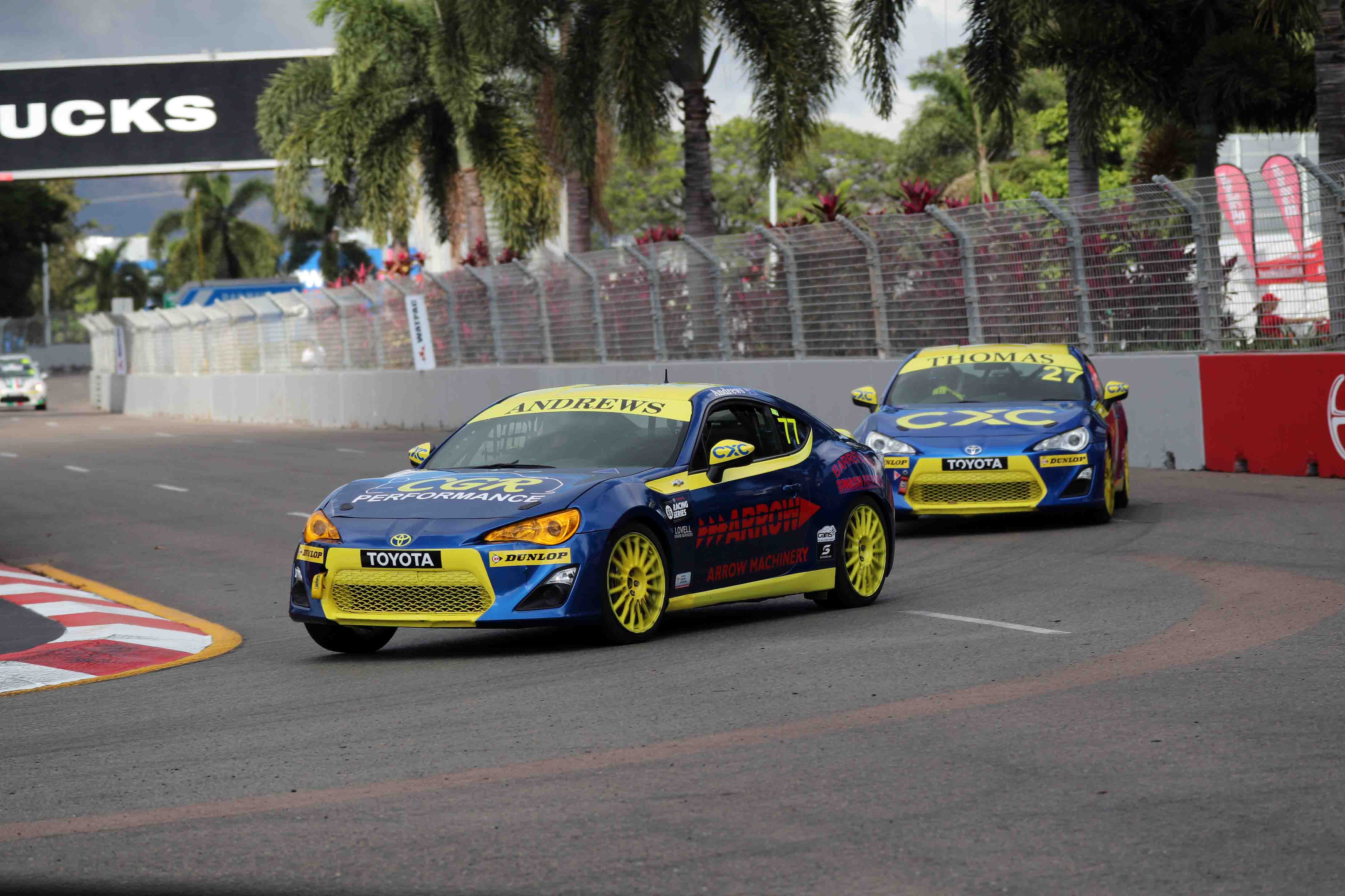 Most Successful SMP Driver Ready for Home T86RS Round