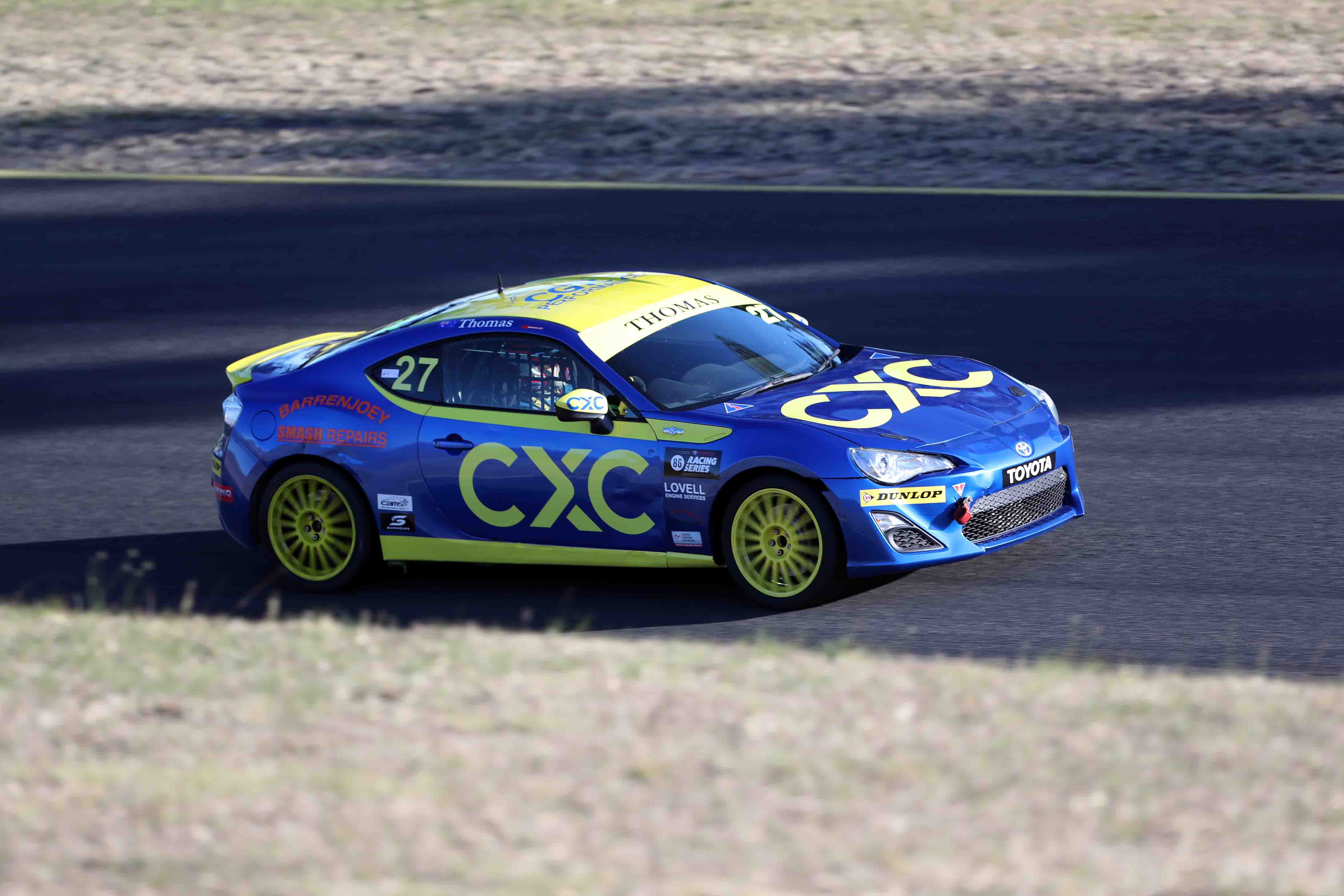 CXC Drivers Make Gains in SMP T86RS Opener